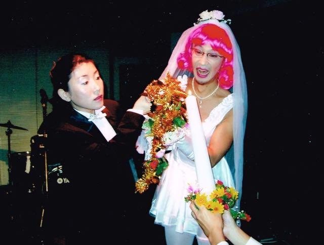 金子夫妻の晴れ姿
