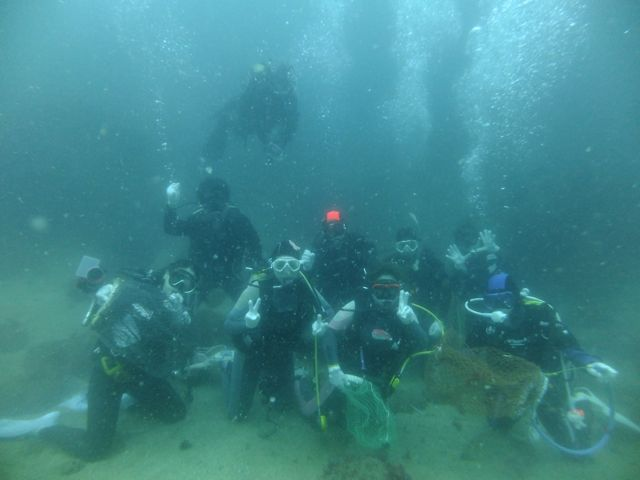 DSCF7739水中集合写真