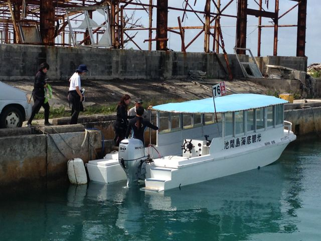IMG_1098ボートに乗る